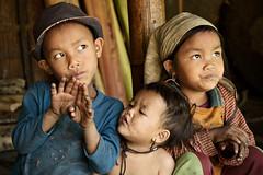 Children world - Loi hilltribe - Myanmar (PascalBo) Tags: boy portrait people girl face hat kid nikon asia southeastasia child d70 burma chapeau myanmar asie enfant fille visage garçon hilltribe shanstate birmanie 123faves ethnie ethnicgroup asiedusudest lpcandid pascalboegli lpchildren wunnyat