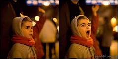 .... REI ROSS!!! (lignasi) Tags: night lights scream catalunya niño noi nen manresa gritar diptico canonef50mmf12l cridar dosmejorqueuno
