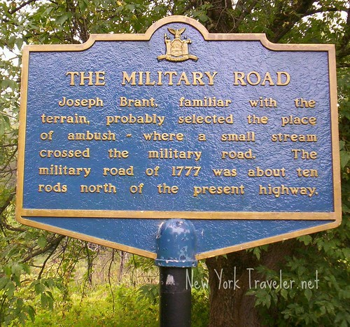 4 Military Road Marker