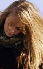 YELLOW IS THE COLOUR (pg tips2) Tags: portrait people sun sunlight girl beautiful beauty yellow scarf canon hair sussex golden lyrics model brighton long pretty natural d glory candid young longhair highlights blonde locks 20 potential scarfe hairs candidportrait goldenhair modelpotential brightonafunplace brighttown