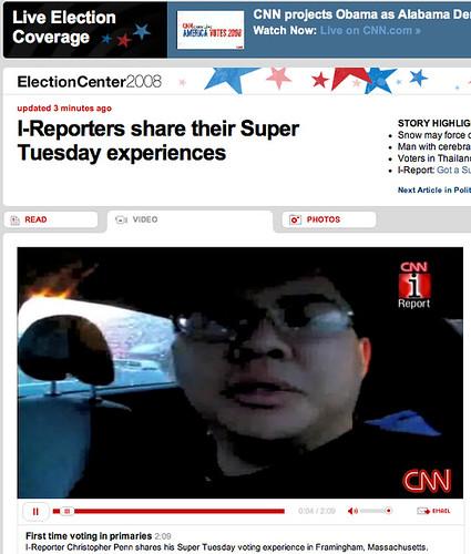 My coverage on CNN