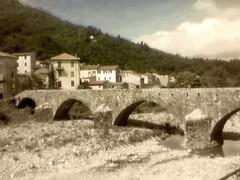 Ponte Doria - Montebruno (Ge) (amuleto20090) Tags: italia genova cielo architettura smrgsbord anawesomeshot colourartaward fdream appenninosettentrionalealpinatura amuleto20090
