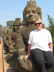 Demon side of Angkor Thom Entrance