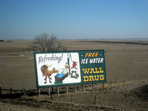 Wall Drug Sign - All Over South Dakota!