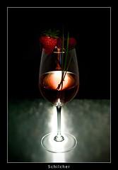 Cheers (nune) Tags: light red glass fruit strawberry wine 2008 soe schilcher colorphotoaward diamondclassphotographer flickrdiamond
