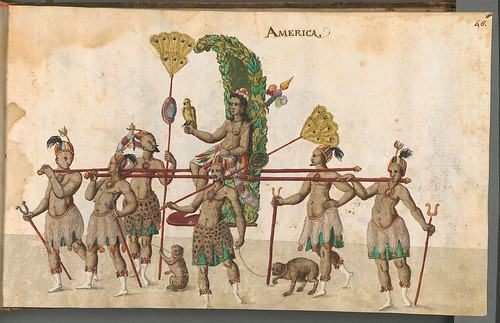 Beschreibung der historischen und allegorischen Personen 1596 (1600) America