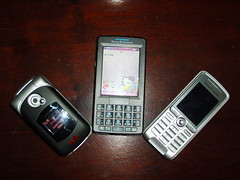 Sony Ericsson in my family (DanyChasez) Tags: hellokitty sonyericsson cellphone gadgets m600 w300 k310