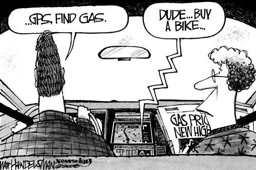 Find gas...