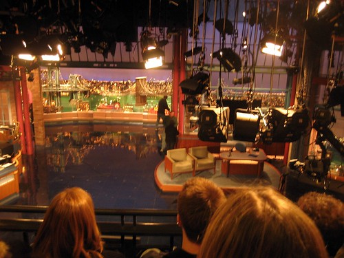 Inside the Ed Sullivan Theater