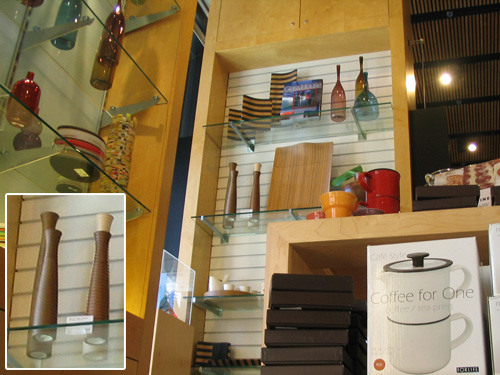 San Francisco Museum of Modern Art Shop (with pepper mills)