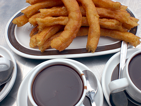 thick-choclate-churros