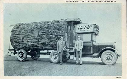 Mobile Office - Vintage Postcard