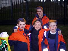 Jugendfeuerwehr zu Gast bei Frankfurt Galaxy - 25.03.2006