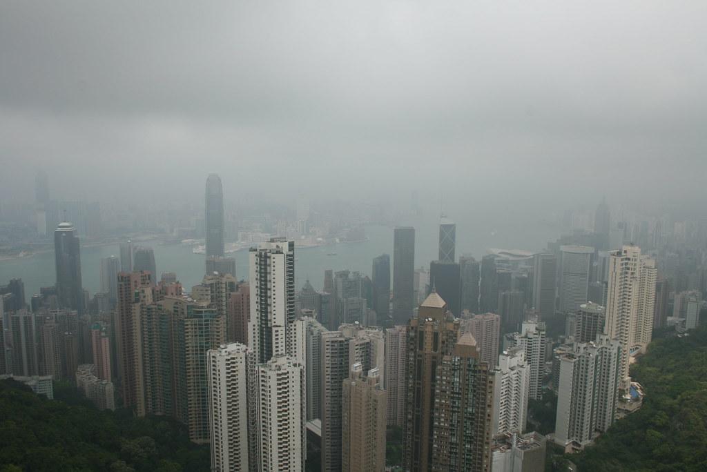 vistas desde el peak
