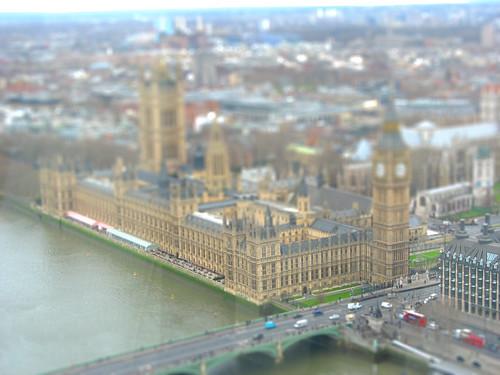Tilt Shift Parliament