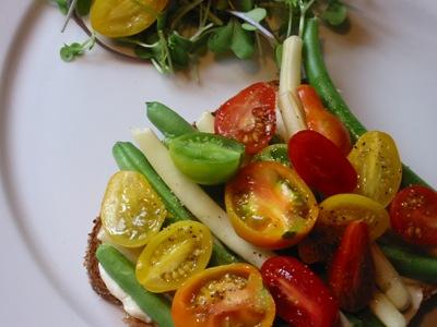 Vegetarian BLT