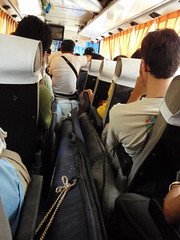 On the bus to Baler