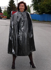 From the Web (mallorcarain) Tags: boots vinyl rainwear pvc regenmantel impermeables