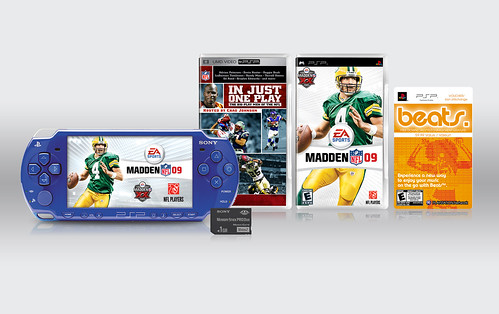 Madden NFL 09 PSP Entertainment Pack