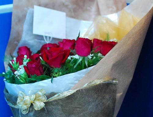 老婆送的玫瑰