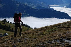 Walkin' on the clouds (vasile23) Tags: oana brienzerrothorn
