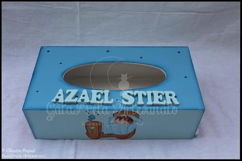 """Fraldário, cesta para produtos de higiene, caixa toalhitas e placa de porta """"Canção de Embalar"""""""