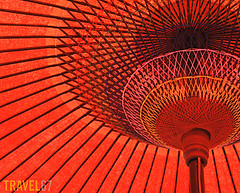 Japanese Umbrella at Nagoya Castle (Travel 67) Tags: japan japanese asia nagoya