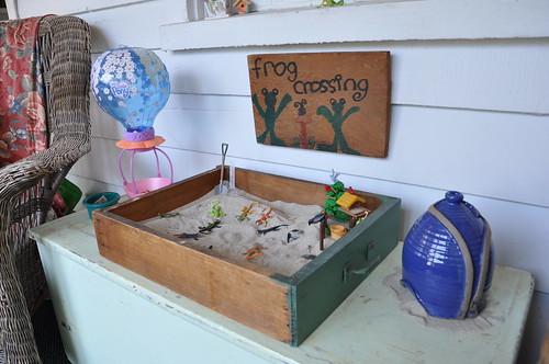 drawer sandbox
