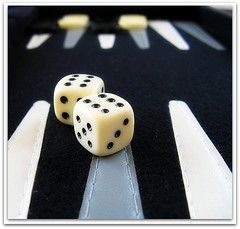 Lets play! (Violet Kashi) Tags: white dice black game canon point dof play board double explore six kashi strategy backgammon