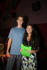Mari and Raffle Winner.