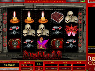 Diablo 13 slot game online review
