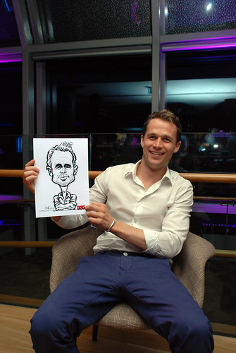 Caricature live sketching for TLC - 25