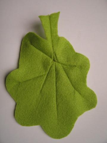 Felt lettuce