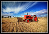 Little Red Tractor (Szmytke) Tags: old red sky cloud tractor field topc25 topv111 festival vintage landscape scotland topv555 topv333 aberdeenshire farm topv999 topv444 machine topv222 topv777 agriculture topv666 plough doric topv888 ploughing alford polariser whear fav10 keig