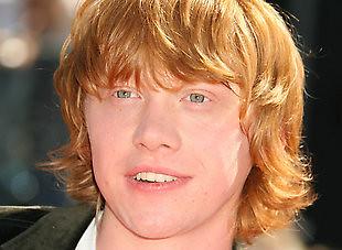 Rupert Grint es Ron Weasley
