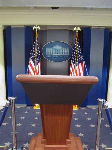empty podium photo