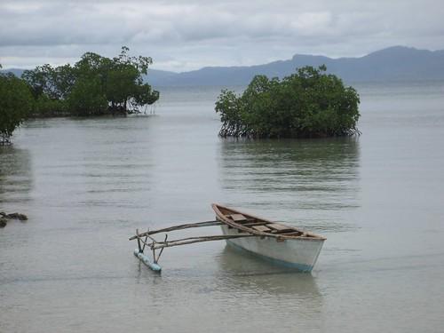 Rabi lagoon canoe