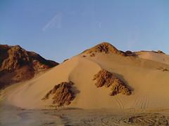 montagna di sabbia