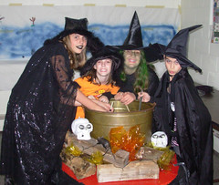 four of my five witches