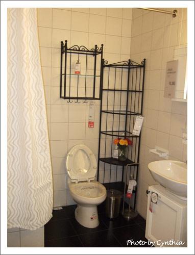 IKEA鍛鐵風浴室置物架