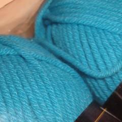 yarn stash - Lion Brand Cotton Ease Popsical Blue
