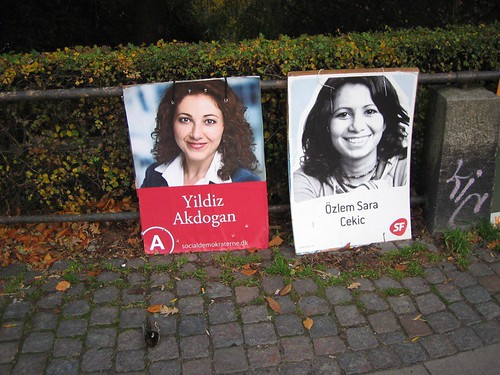 Campaign Posters at �sterport Station, Copenhagen