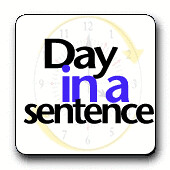 Day in Sentence Icon by Dogtrax.