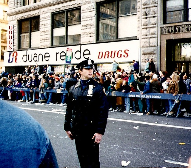 Crowd for the parade for the 1996 New York Yankees by Moncrief Speaks