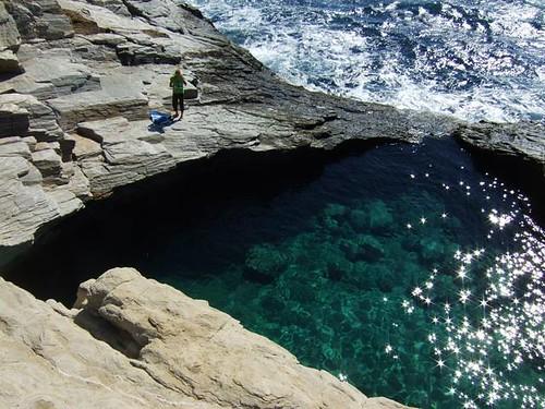 Giola lagoon thassos