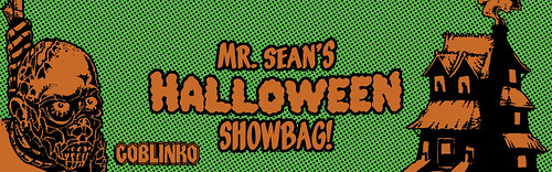 halloween showbag tag