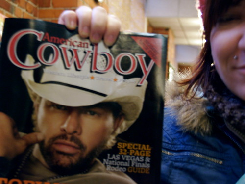 cowboy of the month!