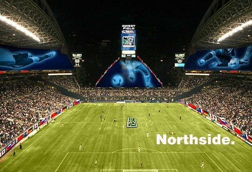 Qwest Field: Northside image for The Offside Rules