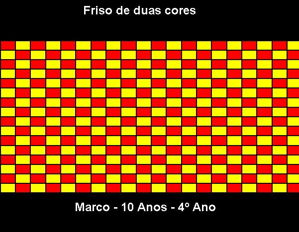 Friso de 2 cores Marco
