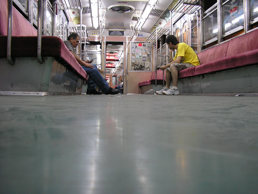 El subte en Buenos Aires